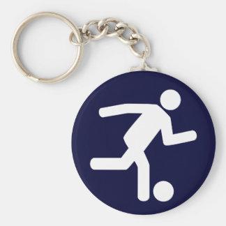 Football Soccer Symbol Keychain