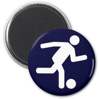 Football Soccer Symbol Magnet