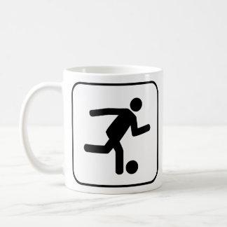 Football Soccer Symbol Mug