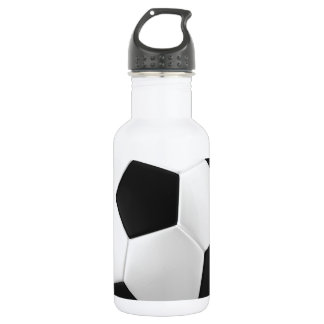 football soccer water bottle