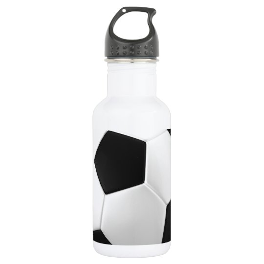 football soccer water bottle zazzlecom