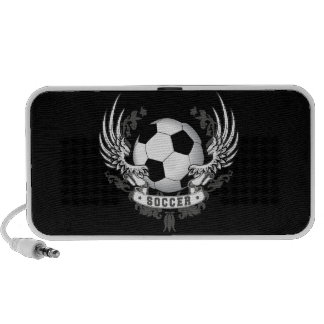 Football Soccer Wings Doodle Mp3 Speaker
