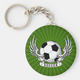 Football Soccer Wings Keychain