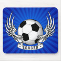 Football Soccer Wings Mousepad
