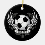 Football Soccer Wings Ornament