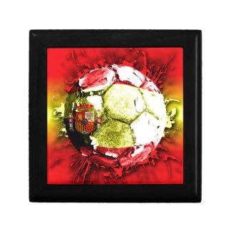 football spain jewelry box