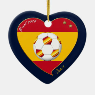 "FOOTBALL ""SPAIN"" Spanish Soccer Team FÚTBOL ESPAÑA Ornamento Para Reyes Magos"