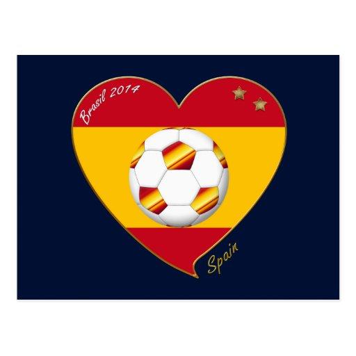 """FOOTBALL """"SPAIN"""" Spanish Soccer Team FÚTBOL ESPAÑA Postal"""