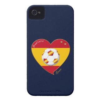 "FOOTBALL ""SPAIN"" Spanish Soccer Team SPAIN SOCCER iPhone 4 Case-Mate Case"
