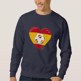 "FOOTBALL ""SPAIN"" Spanish Soccer Team SPAIN SOCCER Sweatshirt"