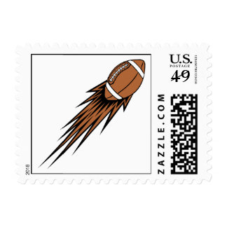 football spike postage stamps