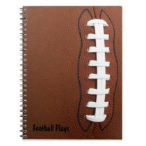 Football Spiral-Bound Notebook