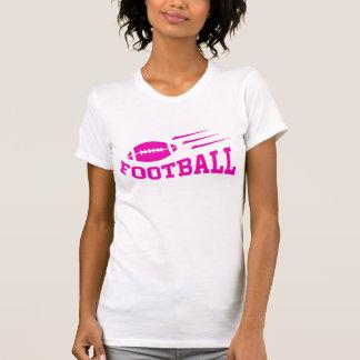Football sport design - pink print girls or womens T-Shirt