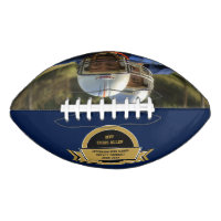 Football Sports Award With Your Own Photo