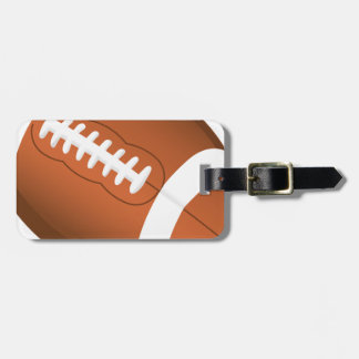 Football Sports Ball Team Game Playing Stars Coach Bag Tag
