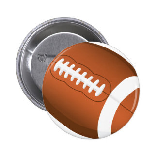 Football Sports Ball Team Game Playing Stars Coach Pin