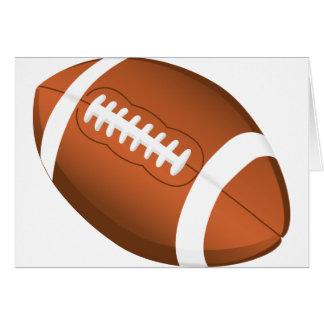 Football Sports Ball Team Game Playing Stars Coach Card