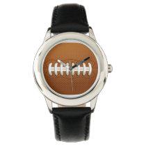 football sports design wrist watch