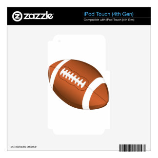 Football Sports Education Coaches Team Game Field iPod Touch 4G Decals