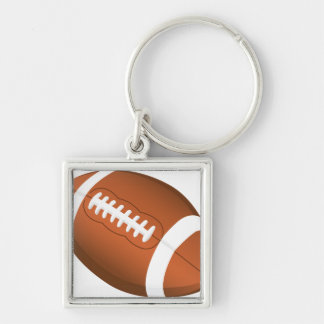 Football Sports Education Coaches Team Game Field Keychain