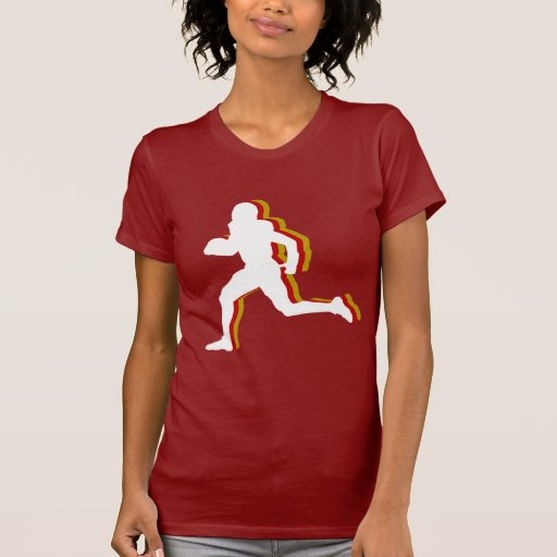 Football -sports- tee shirt