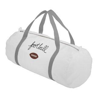 Football Sports Theme Duffle Bag