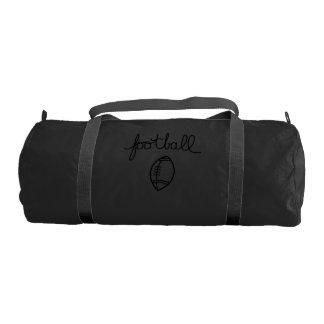 Football Sports Theme Gym Bag