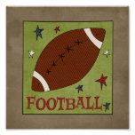 Football ( Sporty Collection) Poster
