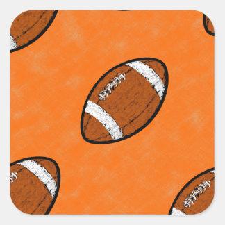 Football Square Sticker