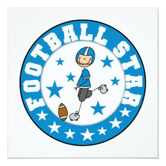 Football Star Invitation