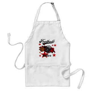 Football Star T-shirts and gifts Apron