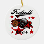 Football Star T-shirts and Gifts Ornaments