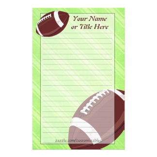 Football Stationery