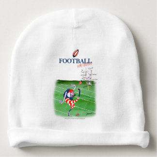 Football stay focused, tony fernandes baby beanie