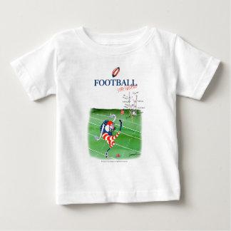 Football stay focused, tony fernandes baby T-Shirt