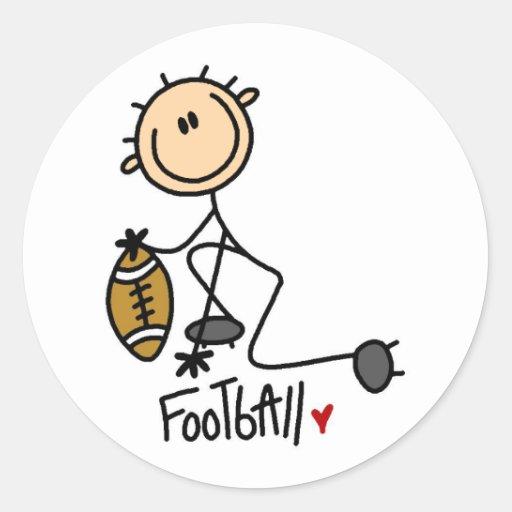 Football Stick Figure Stickers