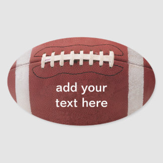 Football Stickers Personalized