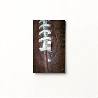 Football Stitches Light Switch Cover