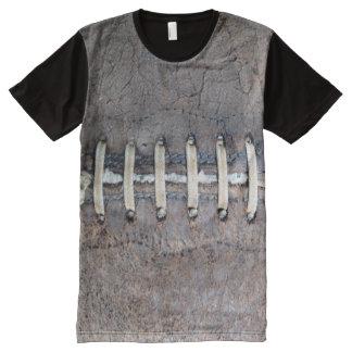 Football Strings horizontal All-Over Print Shirt