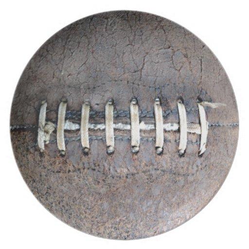 Football Strings horizontal Plates