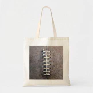 Football Strings vertical Budget Tote Bag