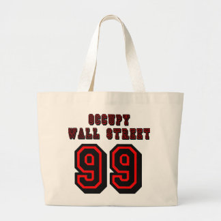 Football style: Occupy Wall Street - 99 Tote Bags