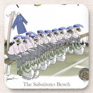 football subs blues beverage coaster