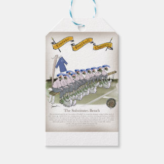 football subs blues gift tags