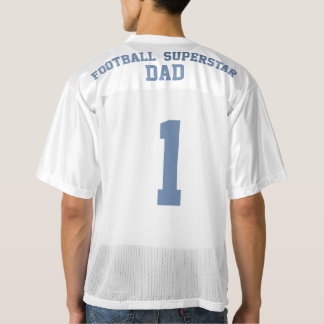 Football Superstar Dad Personalized Jersey