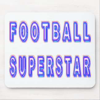 Football Superstar Mouse Pad