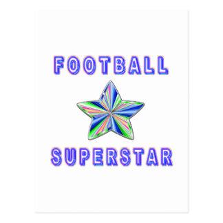 Football Superstar Postcard
