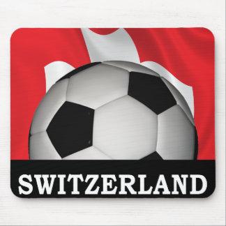 Football Switzerland Mouse Pad