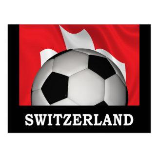 Football Switzerland Postcard