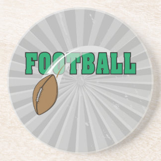 football swoop ball text graphic drink coaster